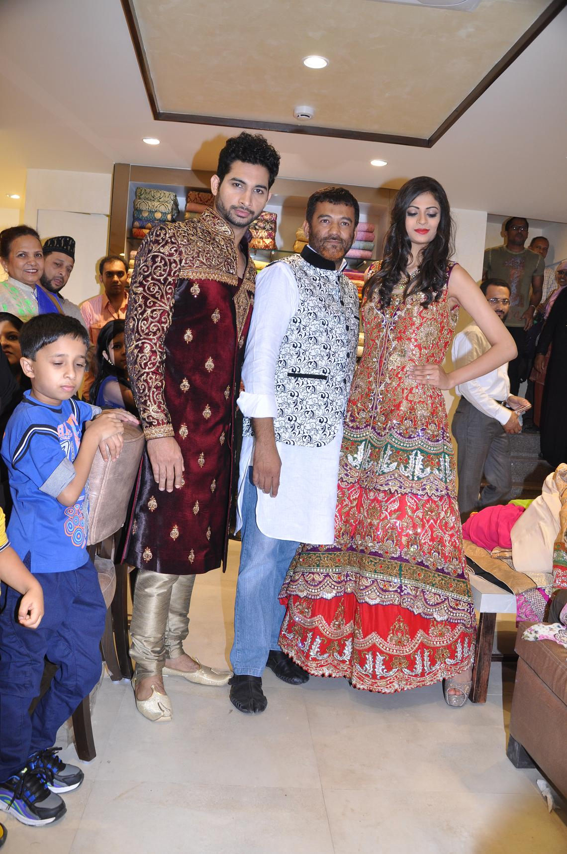 Meraj Designer Studio Launched At Commercial Street Internet News For You