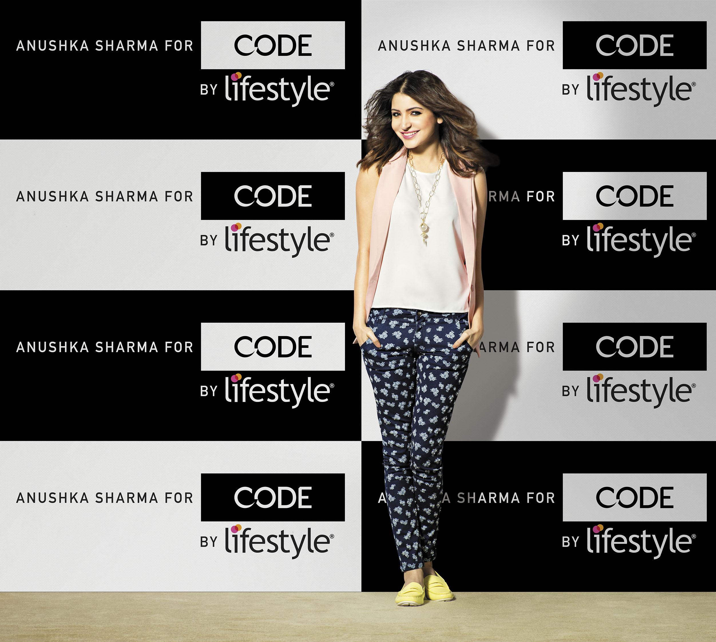 9c13e3cc0d Anushka Sharma signed on as Brand Ambassador for 'Code by Lifestyle ...