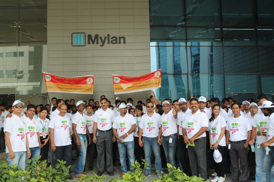 Mylan leads Hepatitis Awareness March on World Hepatitis Day